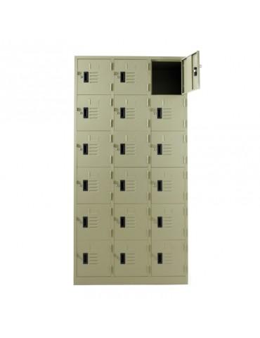 LK-6118 LOCKER 18 DOORS