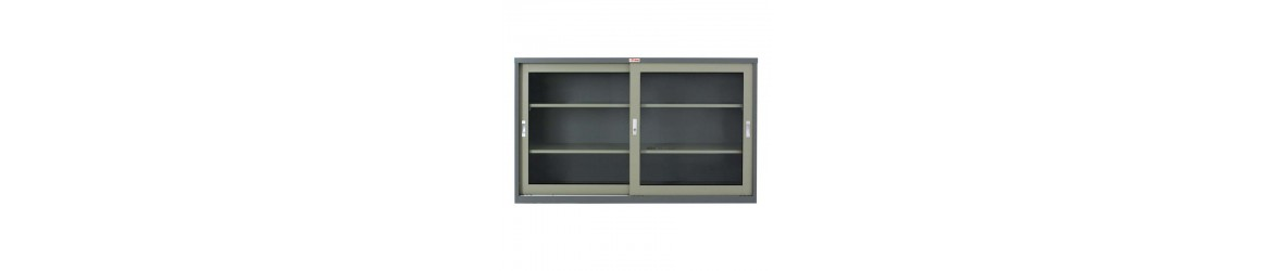 Glass sliding Door Cabinet